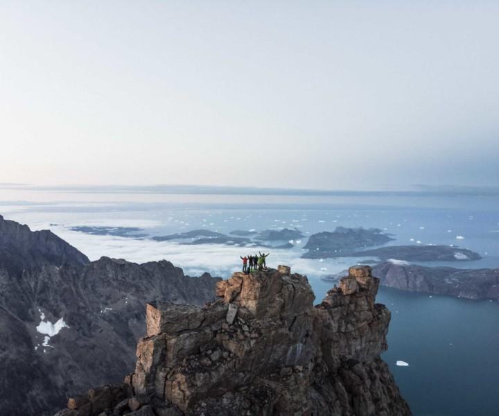 Auf dem Gipfel des Grundtvigskirken. 10 Minuten vor Mitternacht.  Foto: Glowacz GmbH, Moritz Attenberger